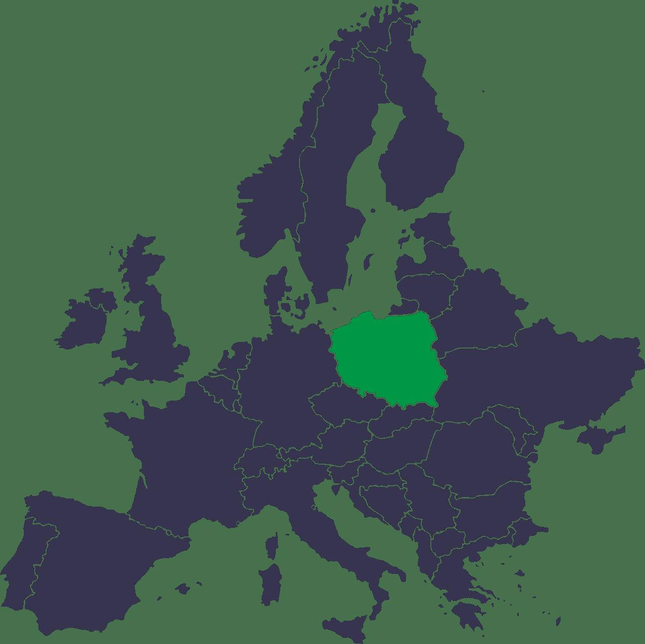 Międzynarodowy przewóz osób i przesyłek Polska Niemcy Holandia Belgia Dania z adresu pod adres