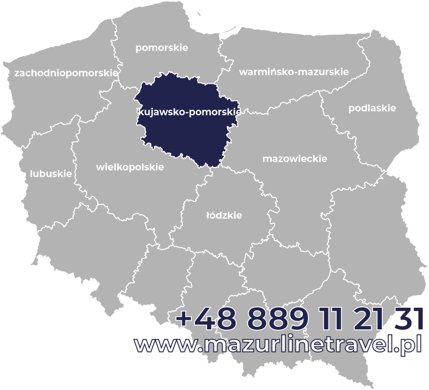 Bus kujawsko-pomorskie Polska Niemcy Holandia Belgia Dania