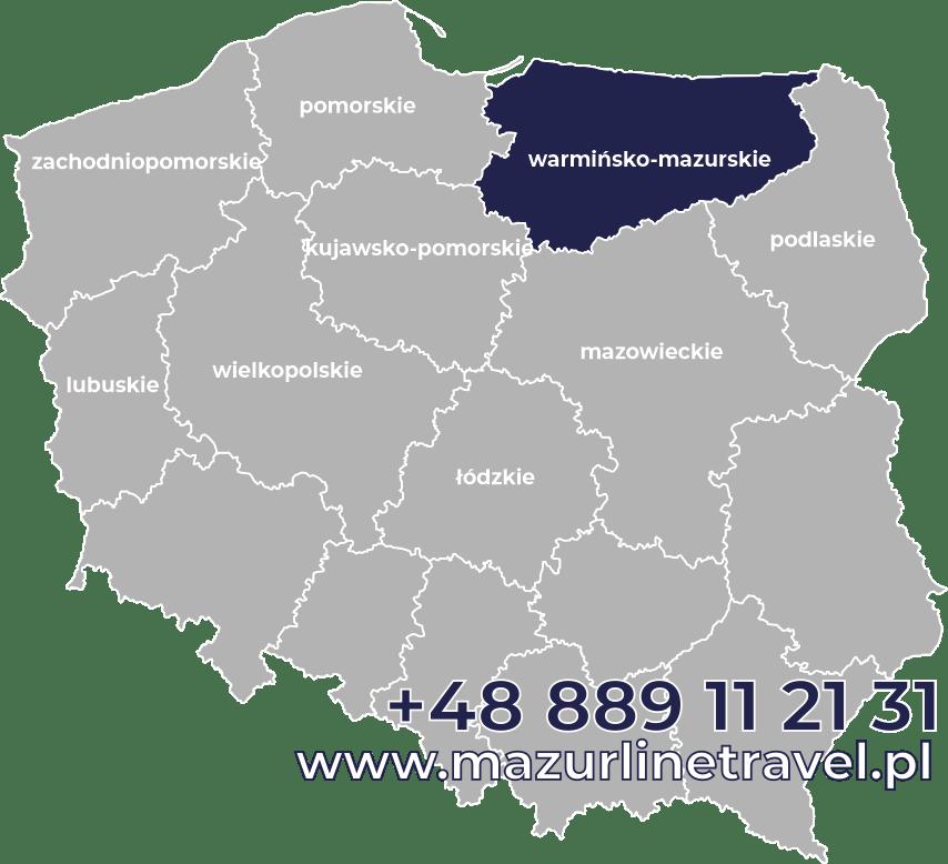 Bus warmińsko-mazurskie Polska Niemcy Holandia Belgia Dania