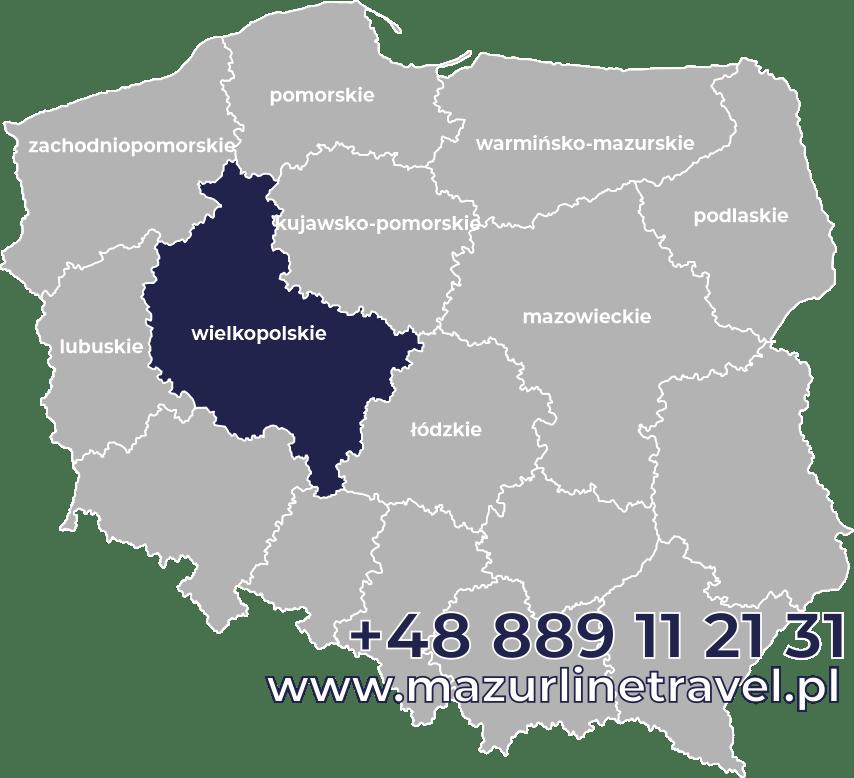 Bus wielkopolskie Polska Niemcy Holandia Belgia Dania