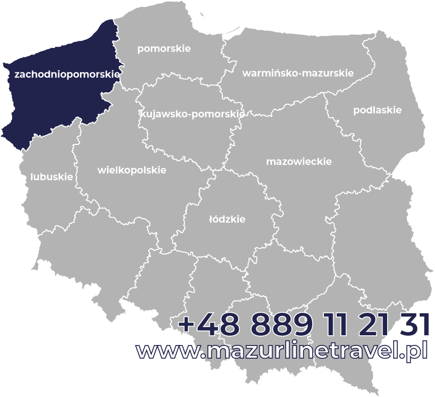 Bus zachodniopomorskie Polska Niemcy Holandia Belgia Dania